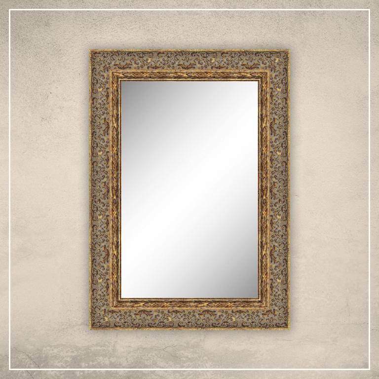 Peegel Alita kuldse raamiga