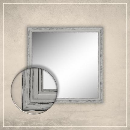 Peegel Oskar valge raamiga