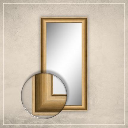 Peegel Lonell kuldse raamiga