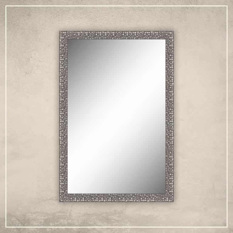 Peegel Olivia hõbedase raamiga