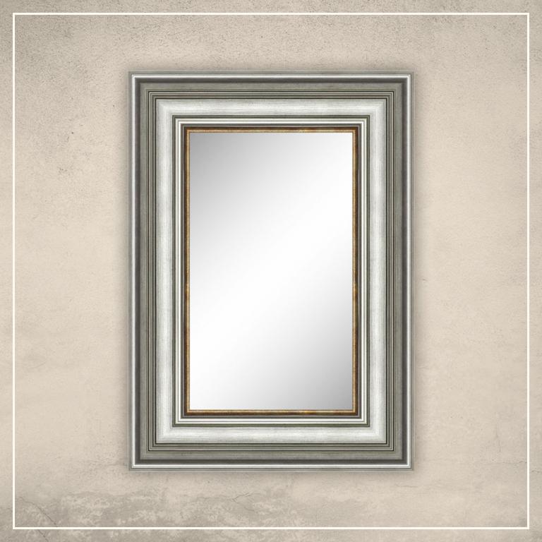 Peegel Hanna hõbedase raamiga