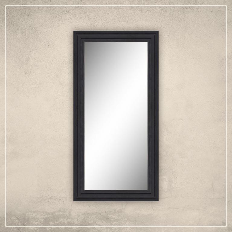 Peegel Remi musta raamiga