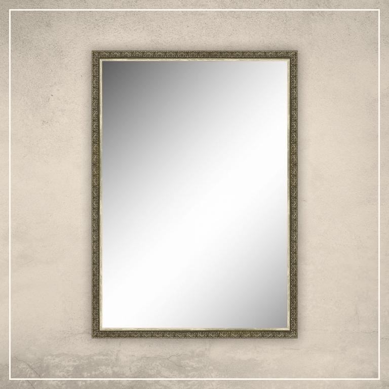 Peegel Klaus tumekuldse raamiga