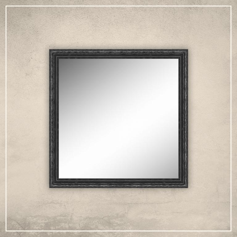 Peegel Oskar musta raamiga