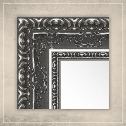 Peegel Julius hõbe/halli raamiga