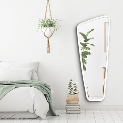 Disainpeegel Vitris valge raamiga (59x145cm)