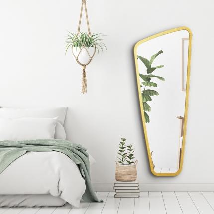 Disainpeegel Vitris kuldse raamiga (59x145cm)