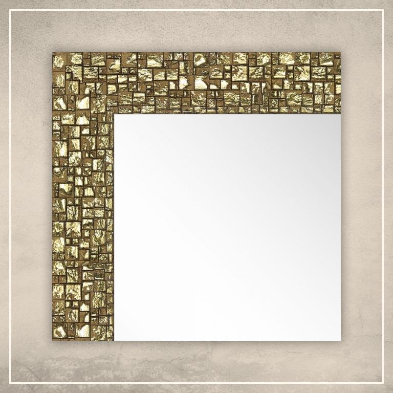 Peegel Olivia kuldse raamiga