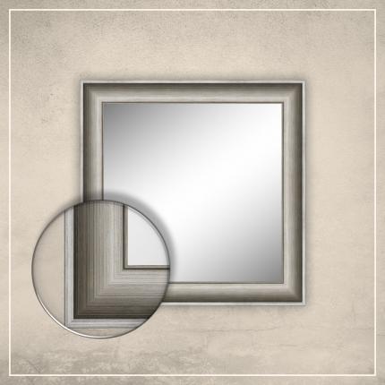 Peegel Lonell hõbedase raamiga