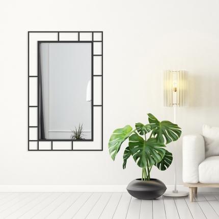 Disainpeegel Famis musta raamiga (95x152cm)