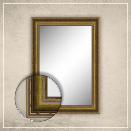 Peegel Lucas kuldse raamiga