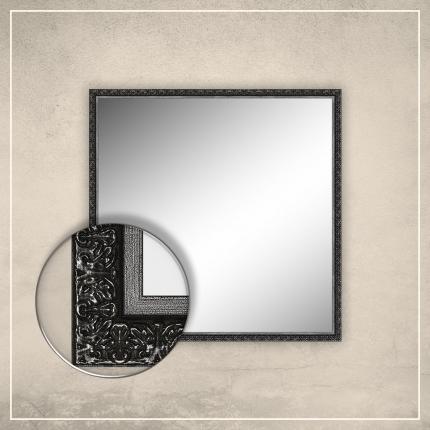 Peegel Klaus musta raamiga