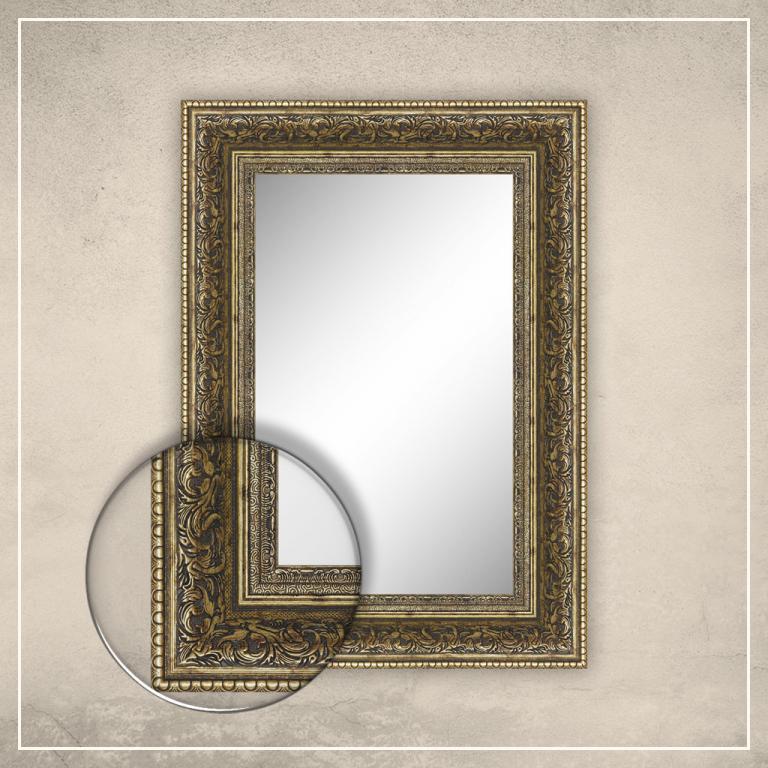 Peegel Louis kuldse raamiga