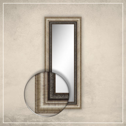 Peegel Alexa pronksi raamiga