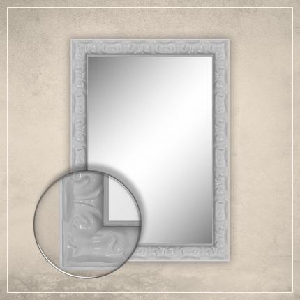 Peegel Elora valge raamiga