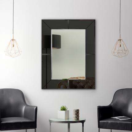 Disainpeegel Mirima klaasist raamiga (80x100cm)