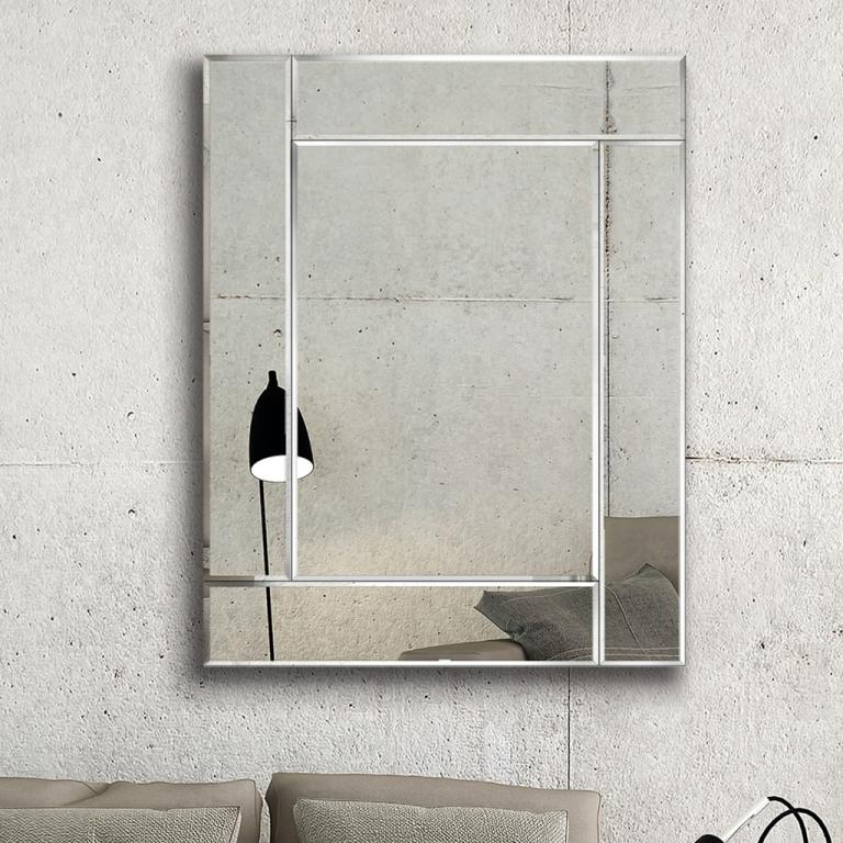 Disainpeegel Korina peeglist raamiga (80x100cm)