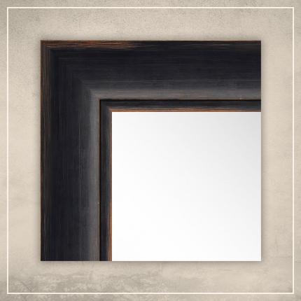Peegel Keira musta raamiga
