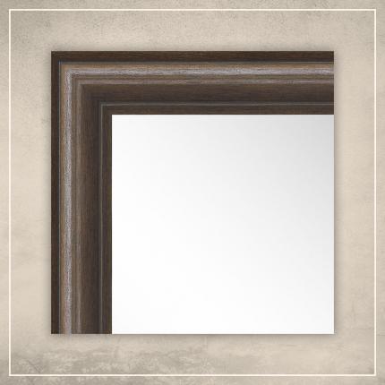 Peegel Leon pruuni raamiga