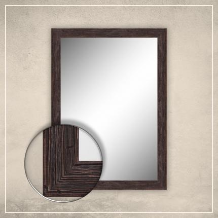 Peegel Nora pruuni raamiga
