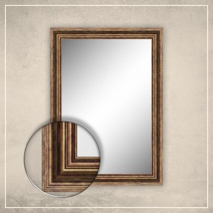Peegel Elena tumekuldse raamiga