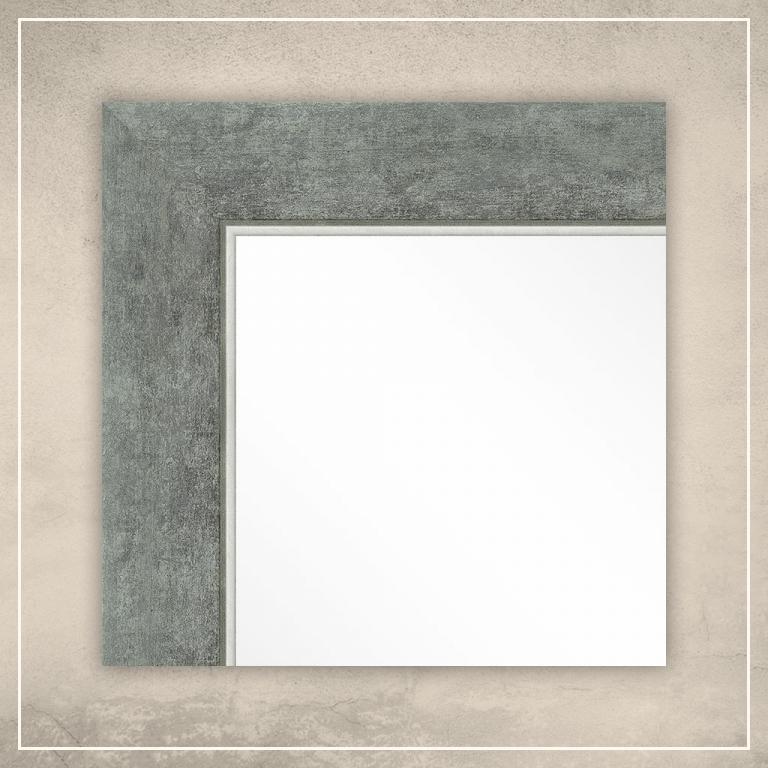 Peegel Liam hõbedase raamiga