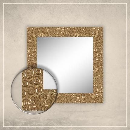 Peegel Laila kuldse raamiga