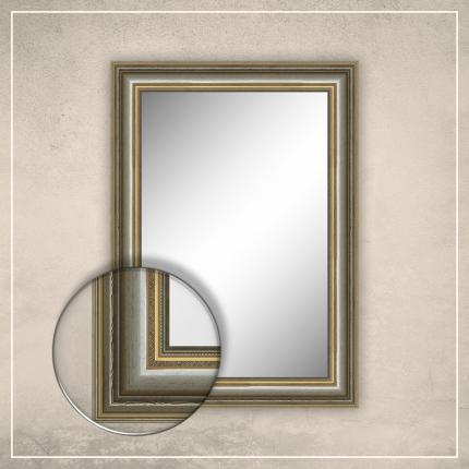 Peegel Lucas hõbedase raamiga