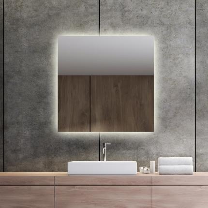 LED valgusega peegel Isabella (70x70cm)