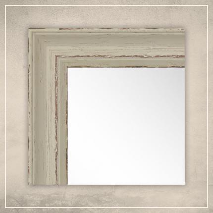 Peegel Toni valge raamiga