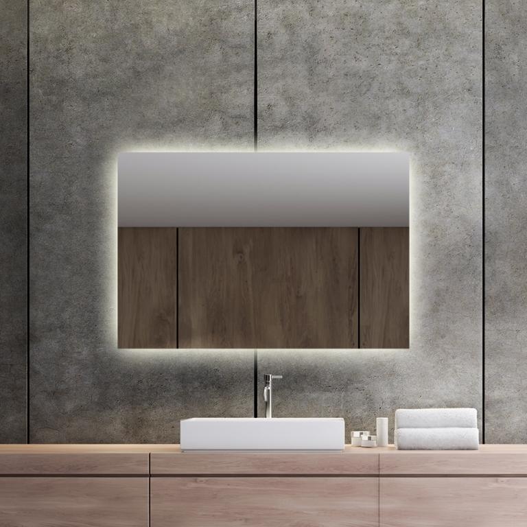 LED valgusega peegel Isabella (90x60cm)