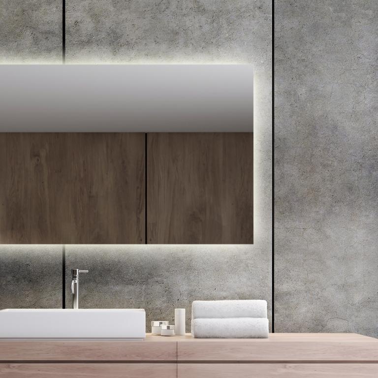 LED valgusega peegel Isabella (120x60cm)