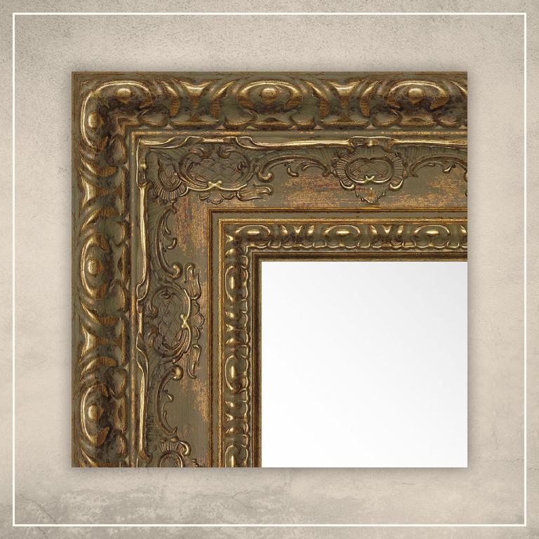 Peegel Julius kuldse raamiga