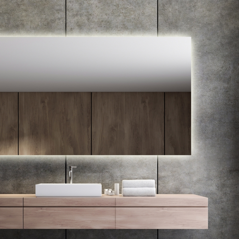 LED valgusega peegel Isabella (180x90cm)