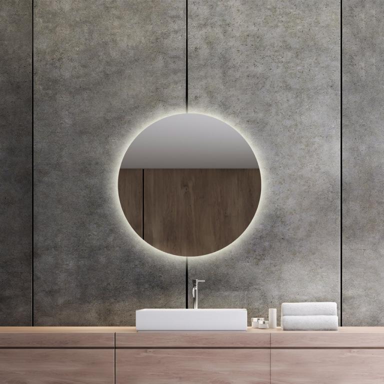 LED valgusega ümmargune peegel Brenda (D=60cm)