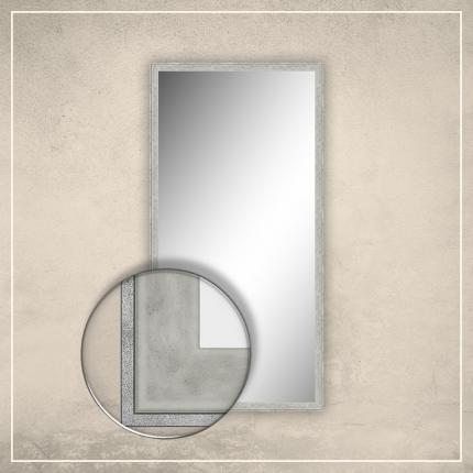 Peegel Fredi valge/halli raamiga