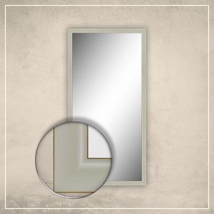 Peegel Aria valge raamiga