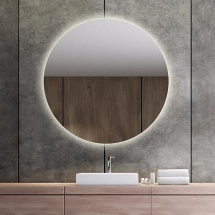 LED valgusega ümmargune peegel Brenda (D=100cm)