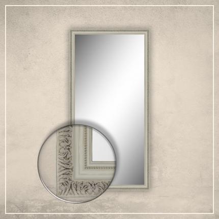 Peegel Adeline valge raamiga