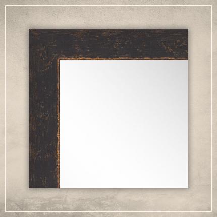 Peegel Stella musta/kuldse raamiga