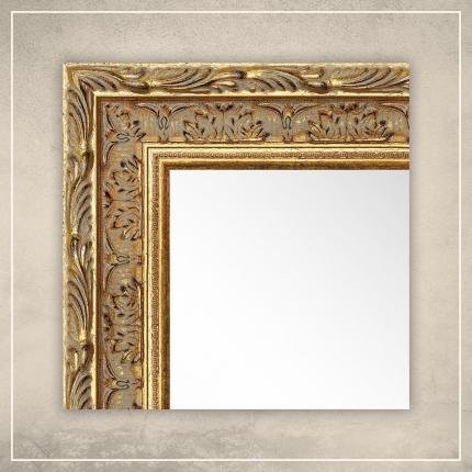 Peegel Athena kuldse raamiga