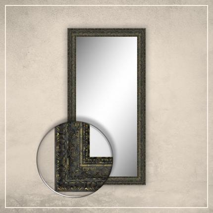 Peegel Julius kuldse/musta raamiga