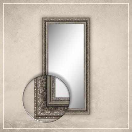 Peegel Auden hõbedase raamiga