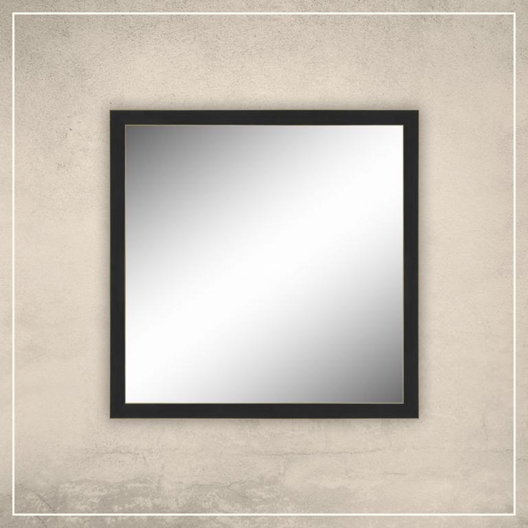 Peegel Aria musta raamiga