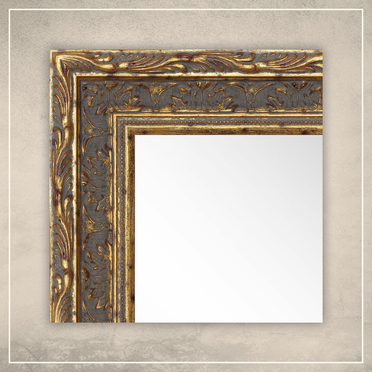 Peegel Athena tumekuldse raamiga