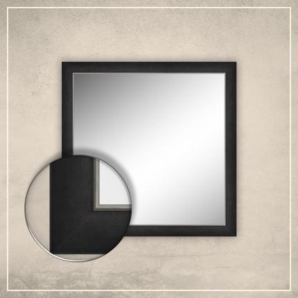 Peegel Liam musta raamiga
